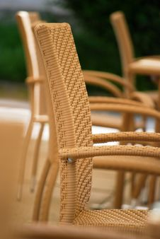 Free Straw Chair Royalty Free Stock Photo - 14942535