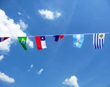 Free Various National Flags Royalty Free Stock Images - 14942629