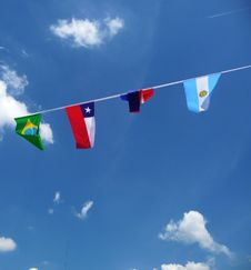 Free Various National Flags Stock Photography - 14942632