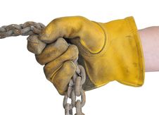 Free Workman S Gloves Stock Photography - 14943972