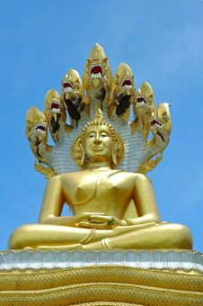 Free Big Buddha Sculpture Royalty Free Stock Image - 14944196