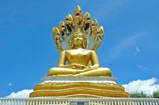 Free Big Buddha Sculpture Royalty Free Stock Photography - 14944197