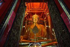 Free Golden Buddha Image Stock Image - 14945491