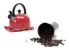 Free Coffee Beans Royalty Free Stock Photography - 14945667