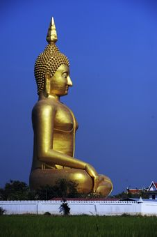 Free Big Buddha In Thailand Royalty Free Stock Image - 14946336