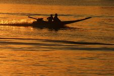 Free Thai Long-tail Boat Royalty Free Stock Photography - 14946667