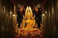 Free The Most Beutiful Golden Buddha In The World Stock Image - 14946781