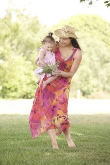 Free Mother And Daughter Royalty Free Stock Photography - 14947127