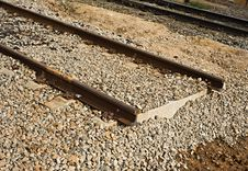 Free Railway Track Royalty Free Stock Photo - 14947835