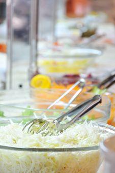 Salad Bowls Royalty Free Stock Photos
