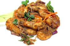 Free Cooked Prawns Stock Images - 14949094