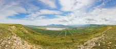Free Panoramic View Of Koktebel Royalty Free Stock Photos - 14949378