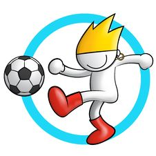 Free Soccer Icon 1 Stock Images - 14949394