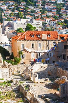 Free Reverse Side Of Dubrovnik Royalty Free Stock Photo - 14949475