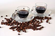 Free Coffee For Two Royalty Free Stock Photography - 14949587