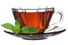 Free Tea With Mint Royalty Free Stock Photos - 14949718