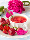 Free Strawberry  Tea Royalty Free Stock Image - 14953936