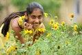 Free Girl In Garden Stock Images - 14954274