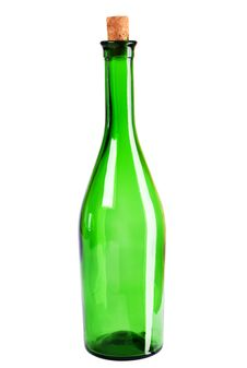 Free Empty Wine Bottle Royalty Free Stock Image - 14950006