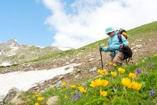 Free Hiker Royalty Free Stock Photography - 14950017