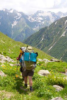 Free Hiker Royalty Free Stock Image - 14950056