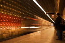 Free Prague Tube Royalty Free Stock Photos - 14950178