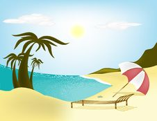 Free Beach Royalty Free Stock Images - 14950209