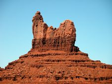 Free Summer In The Monument Valley Royalty Free Stock Image - 14950276