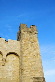 Free Church Of Saintes Maries De La Mer Royalty Free Stock Photography - 14950847