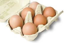 Free Organic Chicken Eggs In Carton Stock Photo - 14950910