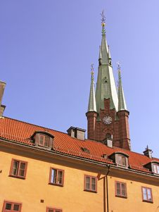 Free Architecture Detail Of Stockholm, Sweden Royalty Free Stock Image - 14950956