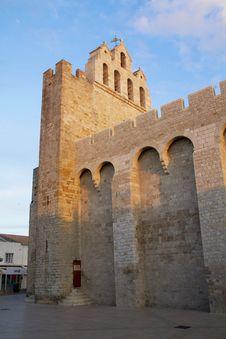 Free Church Of Saintes Maries De La Mer Royalty Free Stock Photos - 14951298