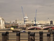 Free London City View Over River Thames Stock Photo - 14951700