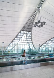 Free Modern Interior Airport Stock Images - 14952084