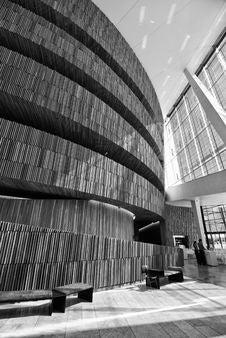 Free Architecture Interior In Oslo Stock Image - 14952131