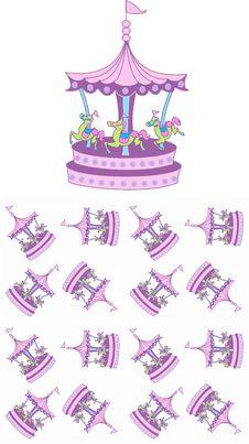Free Carousel Pattern Royalty Free Stock Image - 14952276