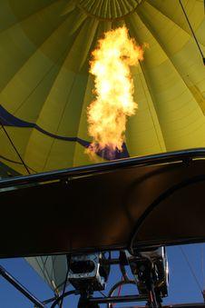 Free Hot Air Balloon Fire Blast Royalty Free Stock Image - 14952446