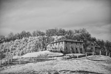 Free Tuscan Countryside By Infrared Stock Images - 14952744