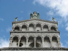 Free Details Of Saint Michael, Lucca Stock Photography - 14952862