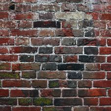Free Aging Brick Wall Royalty Free Stock Photography - 14952987