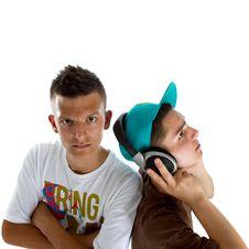 Free Young Fresh Teenage Djs Stock Photo - 14953320