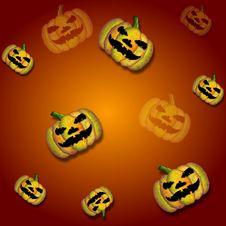 Free Halloween Tile Royalty Free Stock Photo - 14953705