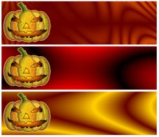 Free Halloween Banners Or Headers Stock Photos - 14953823