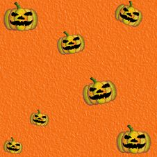 Free Grunge Orange Halloween Background Royalty Free Stock Photography - 14953887