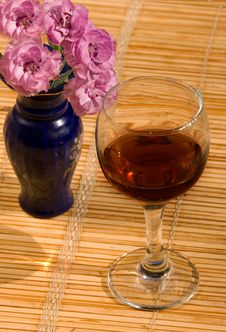 Glass Of A Brandy Stock Image