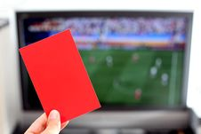Free Red Card Stock Photos - 14954333