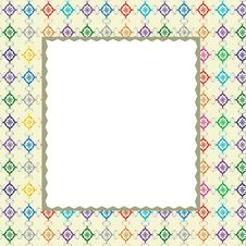 Free Frame With Ornament. Stock Photo - 14954460