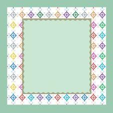 Free Light Green Frame. Stock Photo - 14954520