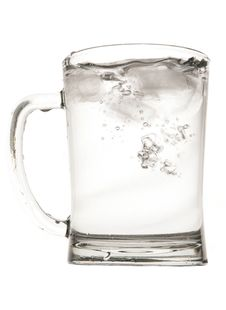 Water In Pint Glass Stock Images