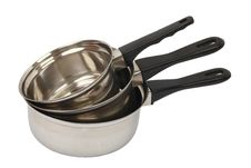 Free Stainless Steel Saucepans Stock Images - 14954834